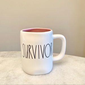 New Rae Dunn Survivor mug